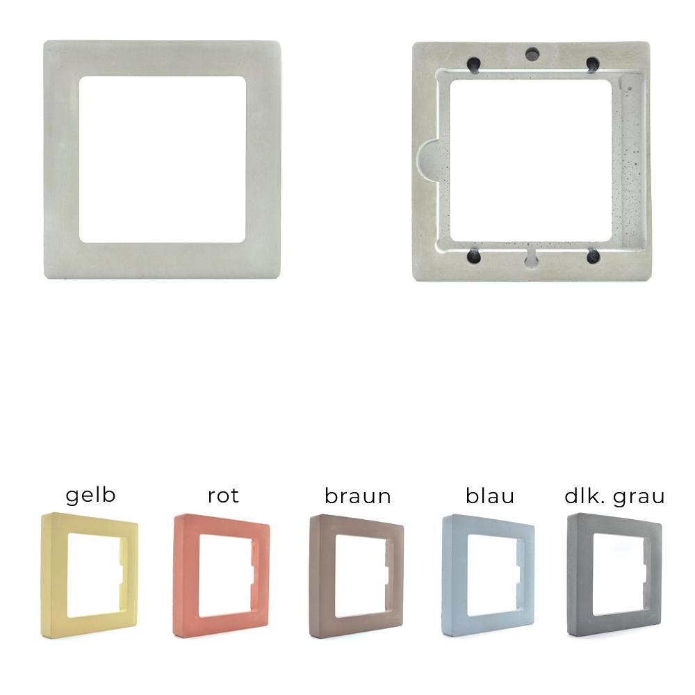 CD Rahmen aus Holz oder Beton - CD-Frame